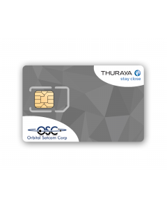 Thuraya Prepaid Backup SIM Card